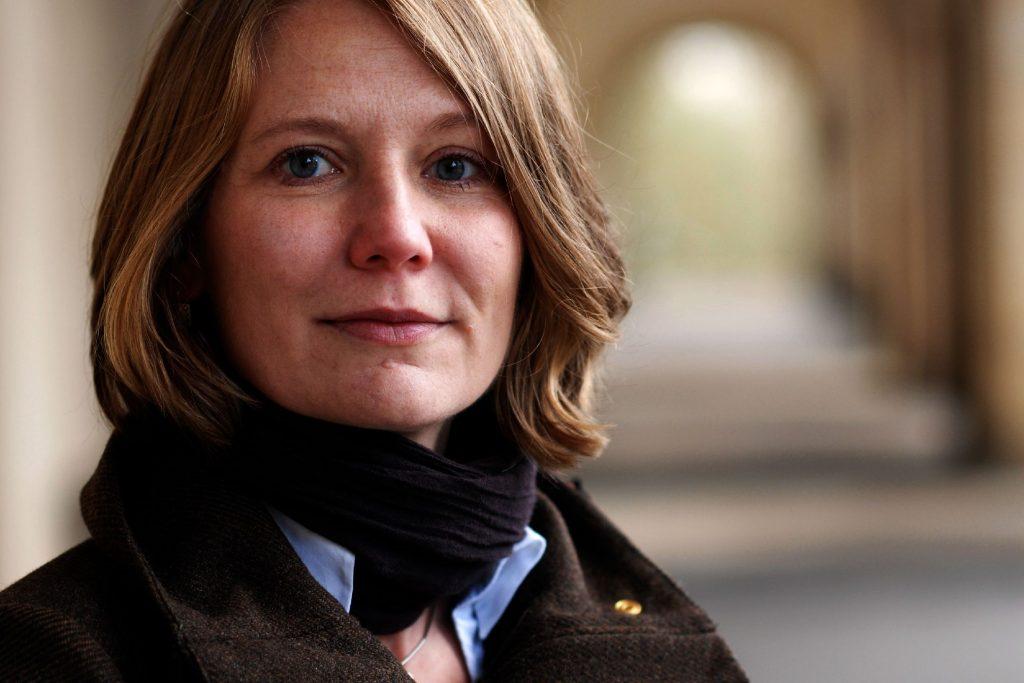 Projektmanagerin Yvonne Fiedler